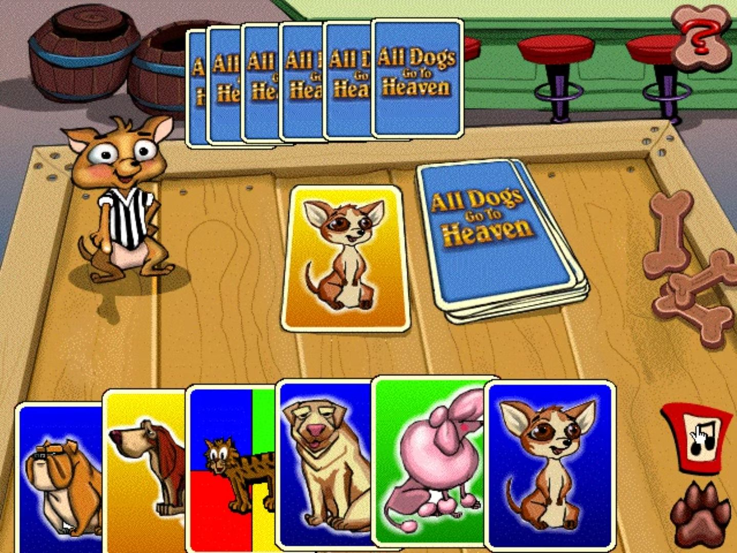All Dogs Go To Heaven Activity Center (Game) - Giant Bomb
