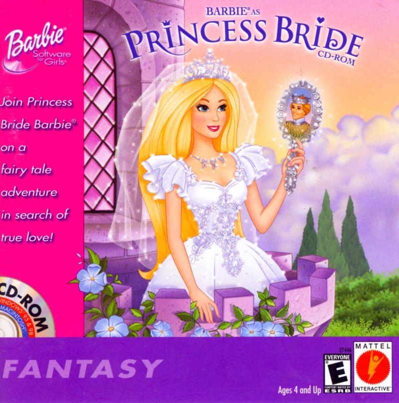 barbie princess bride game free online