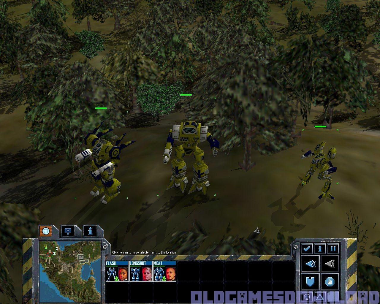 mechcommander 2 old games