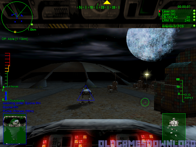 MechWarrior 3: Pirate's Moon Download - Old Games Download