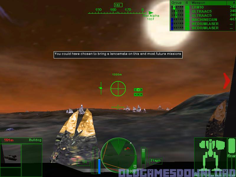 MechWarrior 4: Black Knight Download - Old Games Download