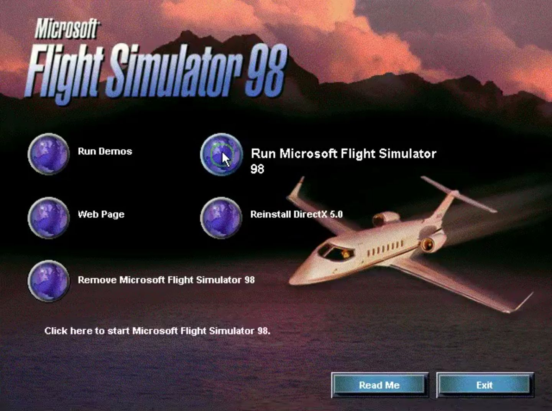 Microsoft Flight Simulator 98 Download - Old Games Download