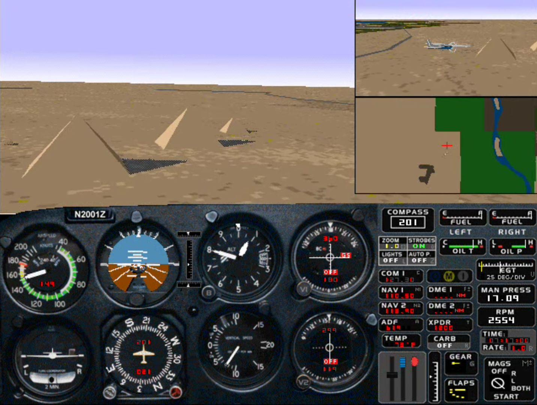 Microsoft Flight Simulator for Windows 95 Download - Old