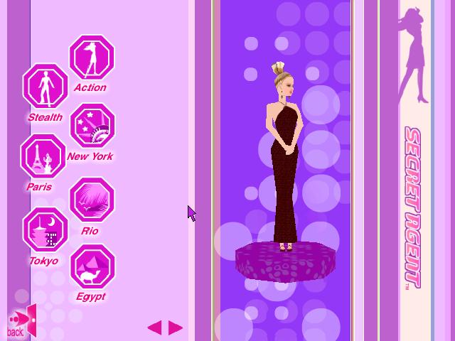 Barbie Secret Agent Game Online