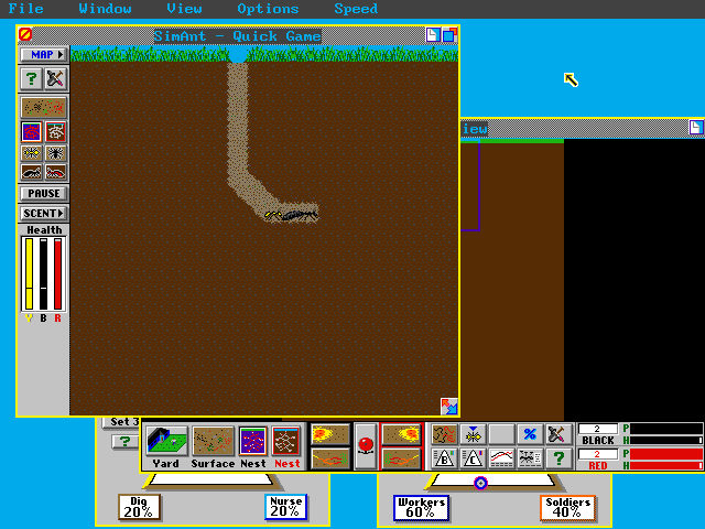 SimAnt: The Electronic Ant Colony Download - Old Games Download