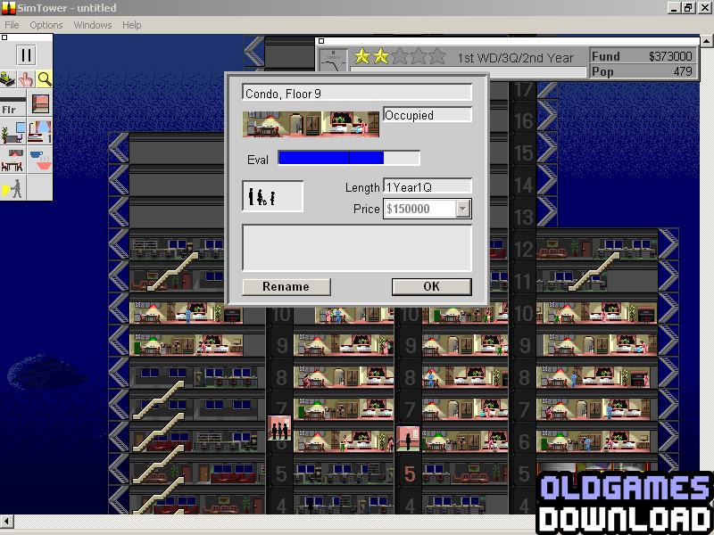 SimTower Windows 3x