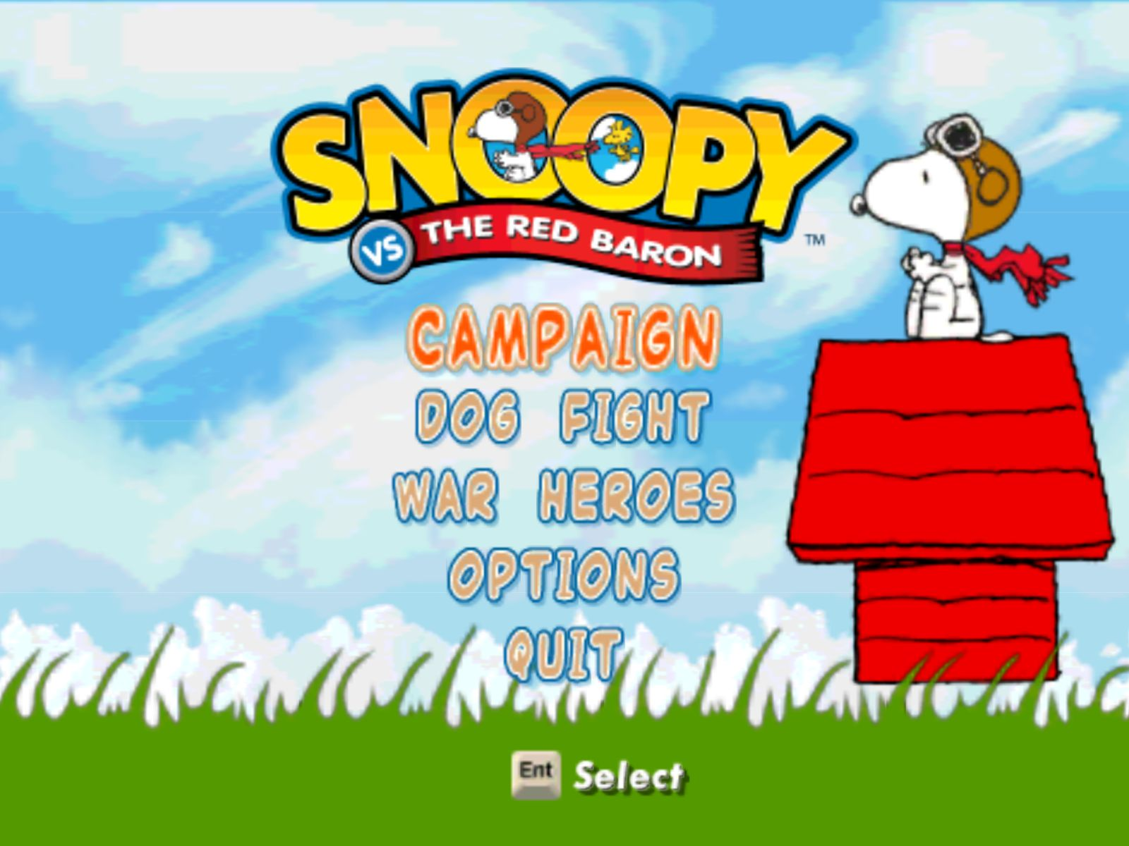 Snoopy Vs The Red Baron Old Games Download