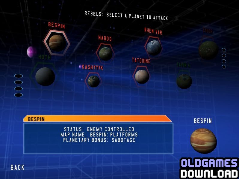 Star Wars: Battlefront Windows Screenshot