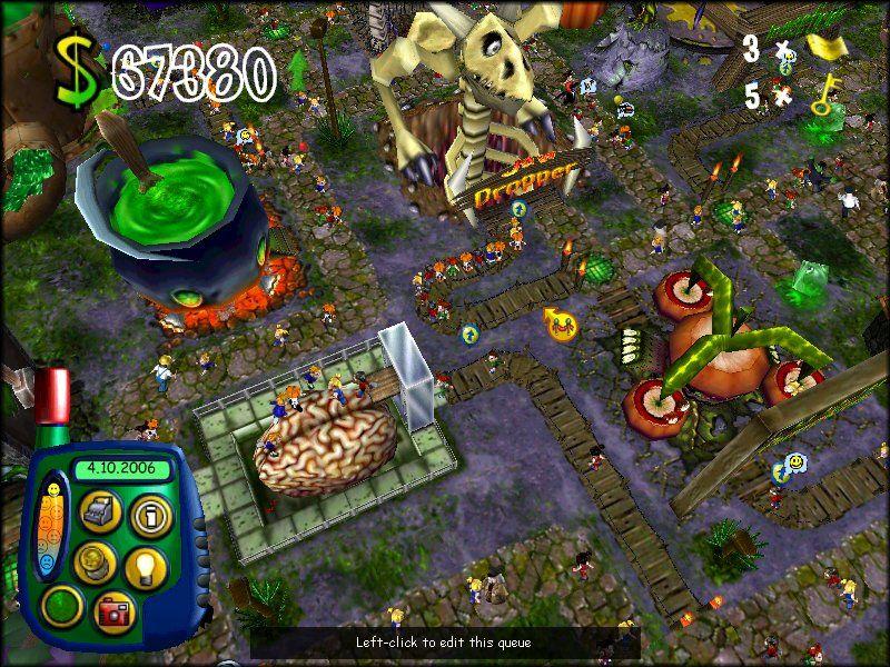 Sim theme park () game download.