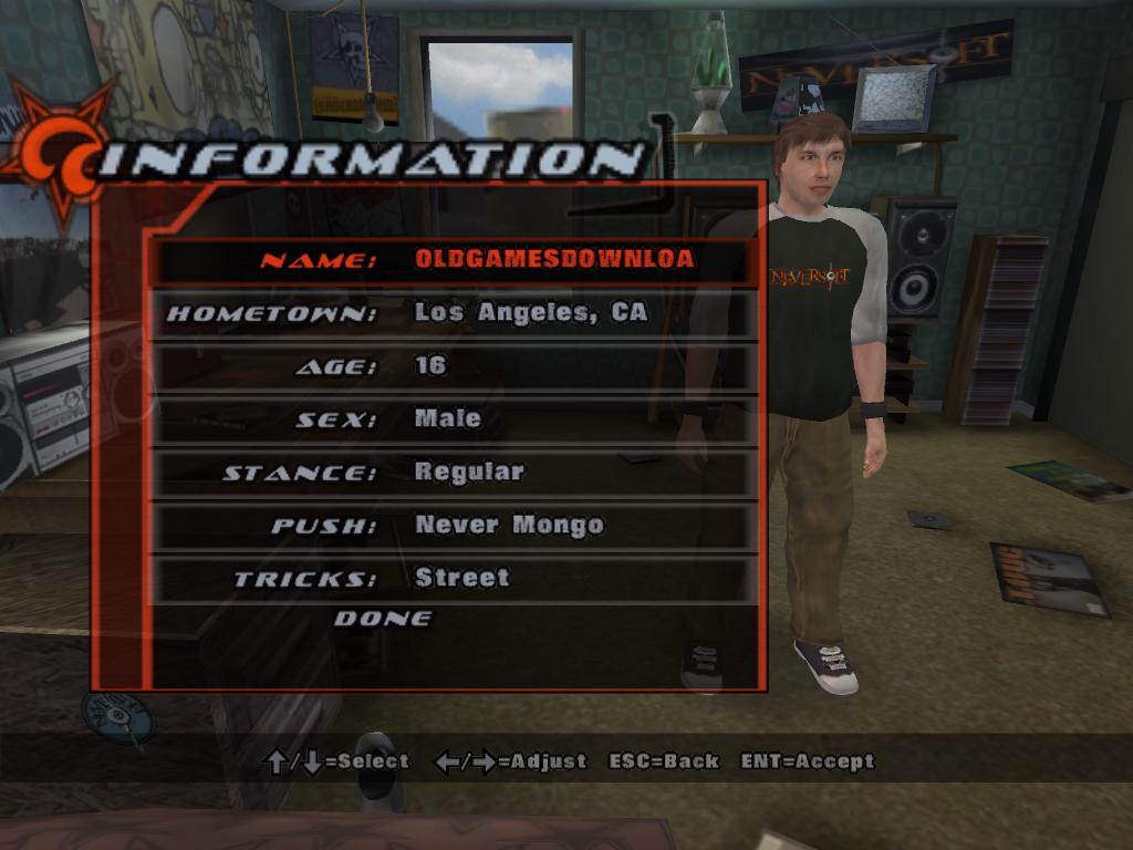 Tony Hawk's Underground Download - Old Games Download