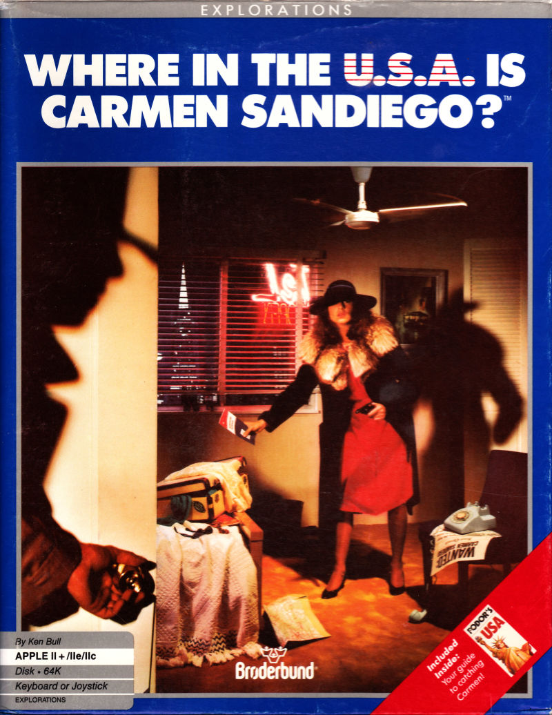 Where In The U S A Is Carmen Sandiego Old Games Download